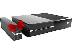 FD 2TB Xbox One Hard Drive Upgrade - Easy Snap-On with 3 USB Ports - Compatible with Original Xbox One Only (XBOX-2TB-SH)