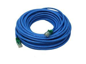 Cable Matters Cat6 Snagless Crossover Patch Cable in Blue 75 FeetParent