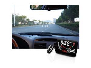 """EchoMan EM05 5.5"""" High Brightness Car Head Up Digital Display, Car HUD with Remote Control"""