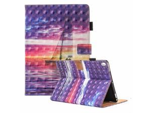 3D Illusion Book-Style Smart Leather Folio Case with Auto Sleep / Wake for iPad