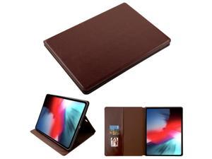 Book-Style Leather Folio Case for iPad Pro 12.9 ...