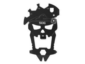SOG SM1001CP SOG MACV TOOL HARDCASED BLACK KEYCHAIN TOOL W/12 COMPONENTS
