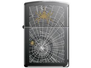 Zippo 150 Spider Web Weave Me Alone 20968 Windproof Pocket Lighter 150MP298657