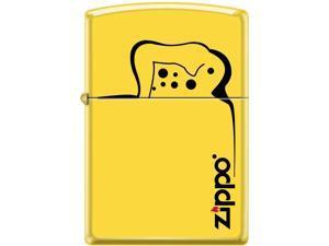Zippo LEMON MATTE HOW IT WORKS 28062 Windproof Pocket Lighter 24839CI016135