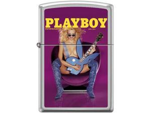Zippo Playboy April 2001 Cover   Windproof Pocket Lighter 205CI017379