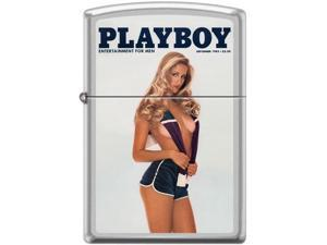Zippo Playboy September 1982 Cover   Windproof Pocket Lighter 205CI017340