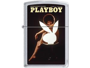Zippo Playboy October 1971 Cover   Windproof Pocket Lighter 205CI012035