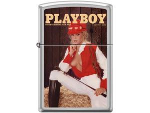 Zippo Playboy July 1983 Cover   Windproof Pocket Lighter 205CI017377