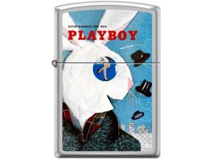 Zippo Playboy April 1954 Cover   Windproof Pocket Lighter 205CI017339