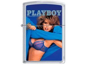 Zippo Playboy June 1987 Cover   Windproof Pocket Lighter 205CI011201