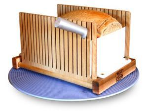 America's Bread Slicer. Foldable Bread Slicing Guide. Great for Homemade Bread!