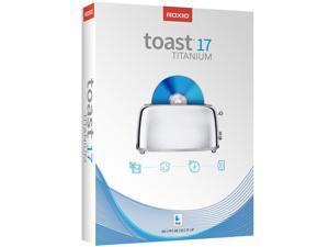 Roxio Toast 17 Titanium for Mac (Boxed)