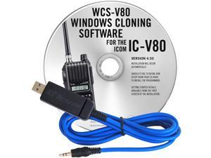 RT Systems WCSR6-USB Programming Software and USB-29A Cable for The IC-R6 Handheld Receiver
