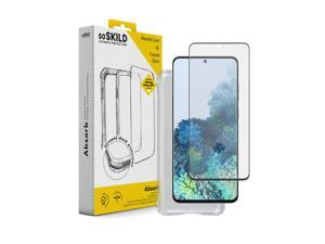 SOSKILD Mobile Case Absorb 2.0 Impact Case for Samsung Galaxy S20+ with Screen Protector - Transparent