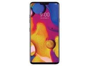 LG V40 ThinQ 64GB Unlocked GSM Phone w/ Triple (12MP+12MP+16MP) Camera - New Aurora Black