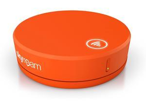 Skyroam Solis: Mobile WiFi Hotspot & Power Bank // Unlimited Data // Global SIM-Free 4G LTE // Pay-as-You-go // Coverage in North America, South America, Europe, (Free Travel Case Included) - Orange