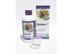 Immune-D for Dogs - Liquid Supplement For The Health & Wellness Of Your Dog - 6 FL OZ
