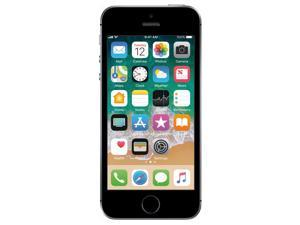 Apple iPhone SE 32GB T-Mobile Locked 4G LTE Phone w/ 12MP Camera - Space Gray