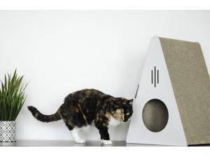 Park & Bench Key Largo Cat Scratcher - White