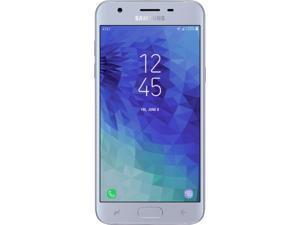 Samsung Galaxy J3 2018 J337A 16GB AT&T Unlocked Nano SIM Android Phone w/ 8MP Camera - Blue