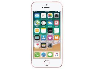 Apple iPhone SE 64GB Unlocked GSM Phone w/ 12 MP Camera - Rose Gold