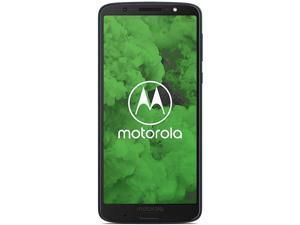"Motorola Moto G6 Plus 64GB XT1926-7 Dual SIM Factory Unlocked 4G LTE 5.9"" IPS LCD 4GB RAM 12MP Smartphone - Deep Indigo - International Version"