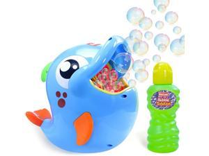 KidzLane Bubble Machine, Automatic Durable Bubble Blower for Kids, 500 Bubbles per Minute, Simple and Easy to Use