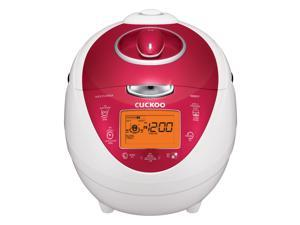 Cuckoo Electric Pressure Rice Cooker and Warmer, 6 cups (CRP-N0681F)
