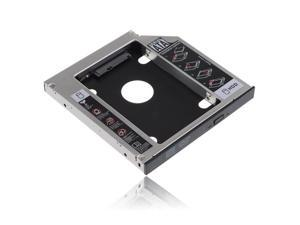 Universal 12.7mm SATA 2nd HDD HD Hard Drive Caddy Adapter For Laptop CD / DVD-ROM Optical Bay, HP, DELL, Thinkpad, Sony, Toshiba, ASUS, Fujitsu, Acer etc.