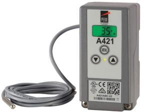 Johnson Controls Electronic Temperature Control,SPDT  A421ABC-02C