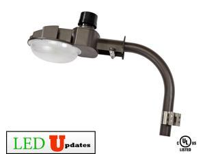 70W BRONZE OUTDOOR SECURITY DUSK TO DAWN BARN LIGHT WITH POLE EXTENSION