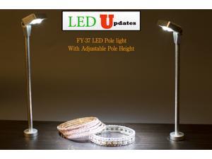 Set of 2pcs JEWELRY LED POLE LIGHT MODEL FY-37 6000K