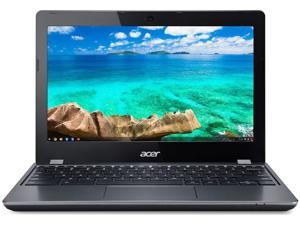 Acer Chromebook C740-C4PE 11.6-in Laptop - Intel Celeron 3215U 1.70 GHz 4GB 16GB eMMC Chrome OS - Bluetooth, Webcam, Grade B