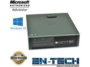 HP Compaq 8200 Elite SFF PC - Intel Core i5 2400 2nd Gen 3.1 GHz 8GB 500GB HDD DVD-ROM Windows 10 Pro 64-Bit