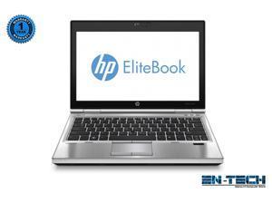 "HP EliteBook 2570p 12.5"" Silver Laptop - Intel Core i5 3360M 3rd Gen 2.8 GHz 4GB SODIMM DDR3 SATA 2.5"" 320GB DVD-ROM Windows 7 Professional 64-Bit"