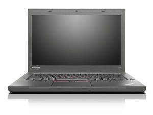 Lenovo ThinkPad T450 14.1-in Laptop - Intel Core i5 5300U 5th Gen 2.30 GHz 16GB 512GB SSD Windows 10 Pro 64-Bit - Webcam, Grade B