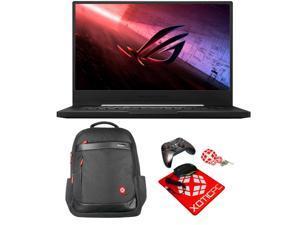 "ASUS Enthusiast ROG Zephyrus S15 15.6"" 300Hz FHD Intel Core i7 10th Gen 10875H (2.3 GHz) GeForce RTX 2070 SUPER 16GB Memory 1TB 970 EVO PLUS NVMe SSD Windows 10 Pro GX502LWS-XS76 Gaming Laptop"