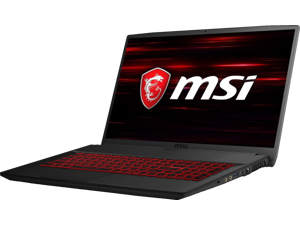 "MSI GF Series GF75 THIN 10SDR-455 17.3"" 144 Hz IPS Intel Core i5 10th Gen 10300H (2.50 GHz) NVIDIA GeForce GTX 1660 Ti 8GB Memory 1TB HDD Windows 10 Home 64-bit Gaming Laptop"