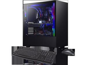 XOTIC H510 Enthusiast Pro (RYZEN 9 3900X 12-core 4.6GHZ Turbo, 16GB DDR4 RAM, 500GB NVMe SSD + 2TB HDD, NVIDIA RTX 2080 Ti 11GB, Windows 10) Liquid Cooled VR READY Gaming Desktop PC