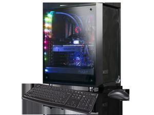 XOTIC Meshify C Advanced (RYZEN 9 3900X 12-core 4.6GHZ Turbo, 16GB DDR4 RAM, 256GB NVMe SSD + 2TB HDD, NVIDIA RTX 2060 6GB, Windows 10) Liquid Cooled VR READY Gaming Desktop PC