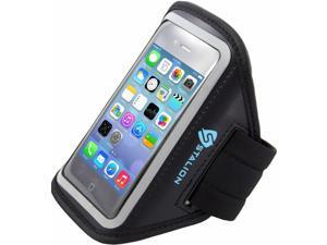 iPod Touch 4th Armband: Stalion® Sports Running & Exercise Gym Sportband (Jet Black) Water Resistant + Sweat Proof + Key Holder