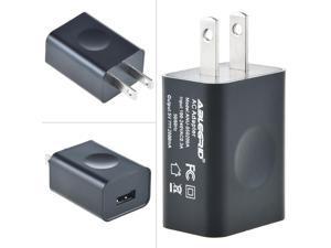 ABLEGRID US Plug 5V 2A USB Port Wall Charger 5 Volt 2 Amp AC-DC Power Adapter Converter