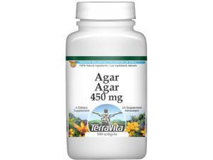 Agar Agar - 450 mg (100 capsules, ZIN: 514516)