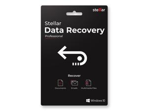 Stellar Data Recovery Software | for Windows | Professional | Recovers Deleted Data, Photos, Videos, Emails Etc. | 1 PC 1 Year | Activation Key Card