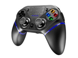 Ipega Gamepad PG-P4010 Bluetooth Joyctick with Touchpad LED Light Speaker Headphone jack Game Controller for Sony PS4 IOS