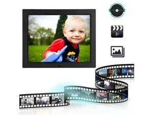15 Inch Widescreen Ultrathin HD 1080P TFT-LCD Digital Photo Frame Picture MP3 MP4 Movie Player US Plug