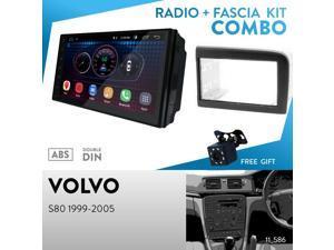 4B 1997-2005 UGAR EX6 7 Android 6.0 Car Stereo Radio Plus 11-458 Fascia Kit for Audi A6 Allroad 2000-2006