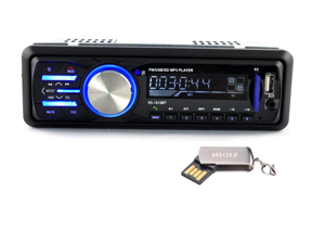 Bluetooth HD Car Audio MP3 Player Card Machine with Radio USB/SD/MMC Card Reader 12V Bluetooth Car Stereo FM Radio MP3 Audio Player Support Bluetooth Phone/U Disk/USB/SD