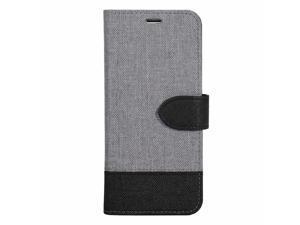 Blu Element 2 in 1 Folio Case Grey/Black Bottom for iPhone SE 2020/8/7 Cases