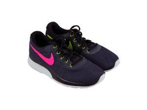 3cf3fd396cef Nike Tanjun Racer Port White Deadly Pink Womens Athletic Running Shoes